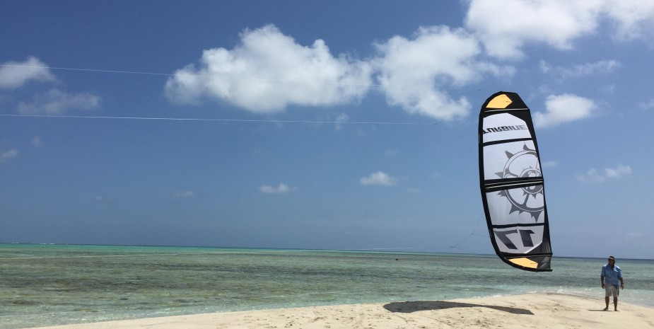 Kite surfing charter