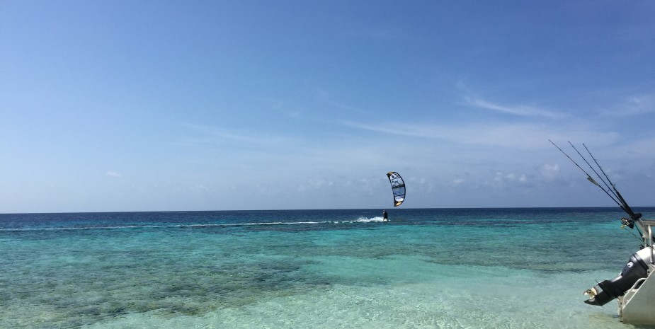 Kite boarding GBR