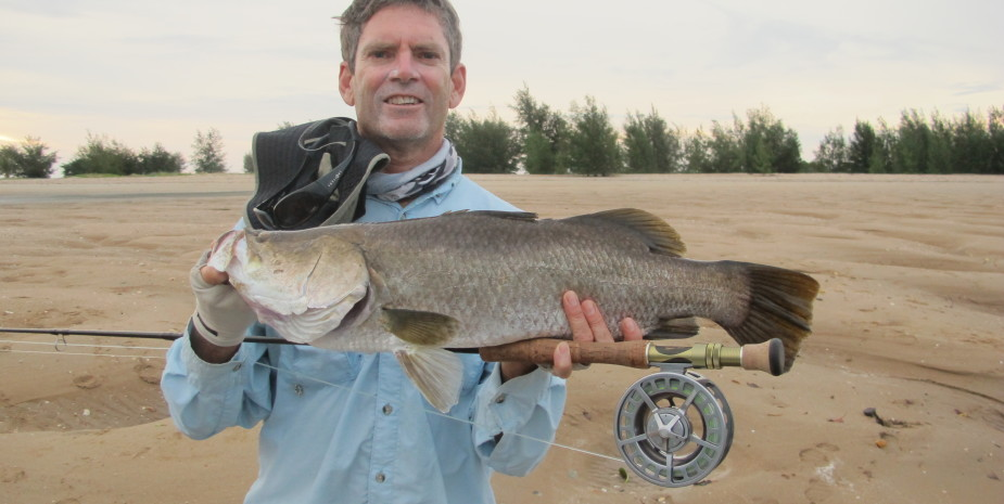 Ever dreamt of catching a Barra on Fly?