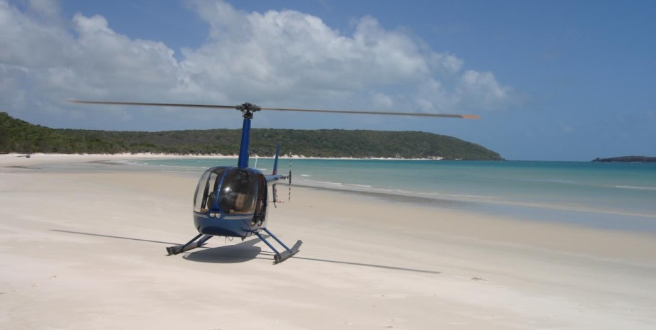 Remote access - private heli-tours